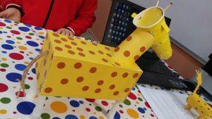 Giraffe craft-ideas for preschool and kindergarten