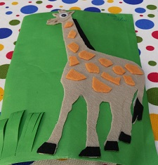 Giraffe craft ideas for preschool