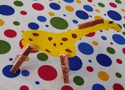Giraffe craft ideas for preschooler