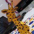 Giraffe craft ideas for preschoolers and kindergarten