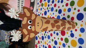 Giraffe craft ideas for primary school