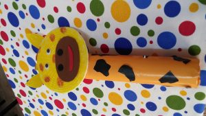 Kindergarten craft ideas related to giraffe
