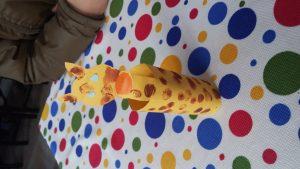 Kindergarten giraffe craft ideas
