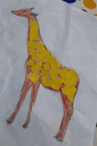 Preschool craft ideas to giraffe