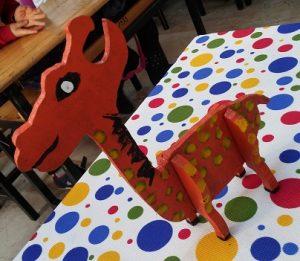 Preschool giraffe craft ideas