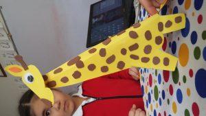 Primary schooler giraffe craft ideas