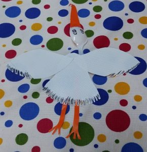 Stork craft ideas for kids