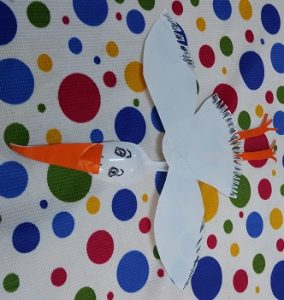 Stork craft ideas for kindergarten