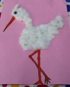 Stork craft ideas for preschool