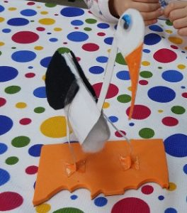 craft ideas to stork