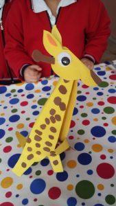 funny giraffe craft ideas