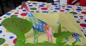 funny giraffe craft ideas for preschooler