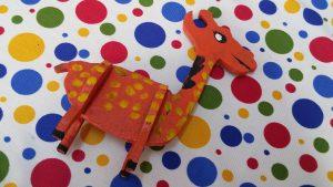 giraffe kindergarten craft ideas