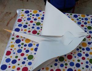kindegarten craft to stork
