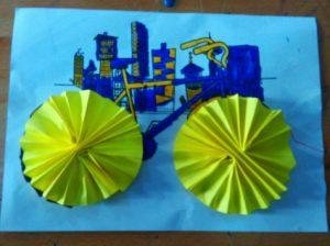 preschool bicycle fun crafts