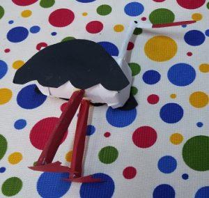stork craft ideas for preschool and kindergartners