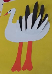 stork craft ideas for preschooler