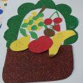 Fruit basket craft ideas for preschool and kindergarten