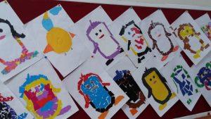 Penguin bulletin board ideas - easy craft ideas