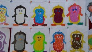Penguin bulletin board ideas for kindergarten