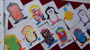Penguin bulletin boards for preschool and kindergarten