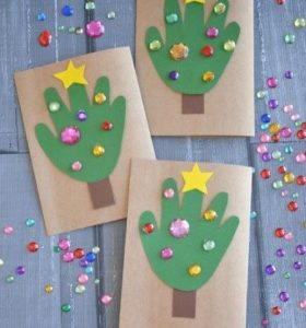 kids christmas tree craft ideas