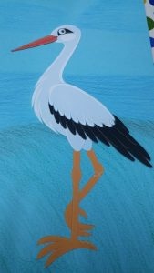 paper stork craft ideas for preschool and kindergarten