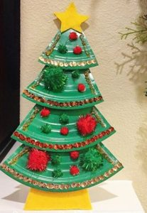 preschool christmas tree craft ideas