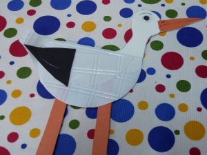 preschool paper plate stork crafts