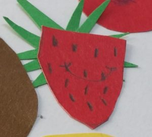 strawberry crafts for preschool and kindergarten