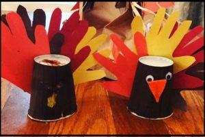 thanksgiving preschool turkey crafty