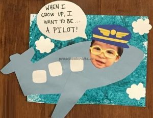Airplane craft ideas for preschooler and kindergartner