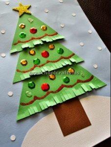 Christmas tree craft ideas for kids
