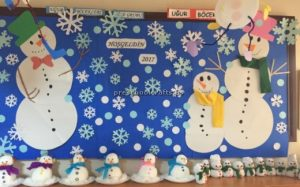 Happy new year bulletin board ideas for preschool