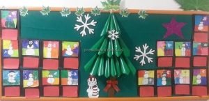 Happy new year bulletin boards for preschool