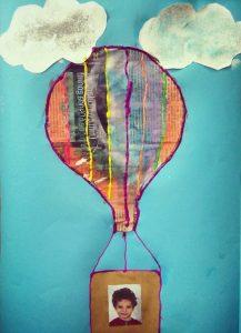 Hot air balloon craft ideas for pre school kindergarten