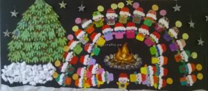 New year bulletin boards for preschool