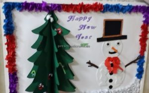 New year bulletin boards ideas for preschool
