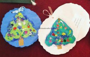 christmas tree craft for preschool and kindergarten