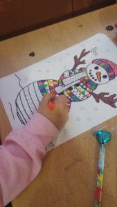 fun snowman creative for kids