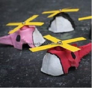 helicopter craft for preschool and kindergarten