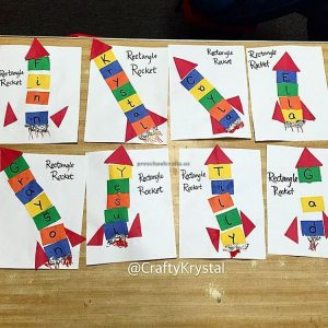preschool rocket craft ideas