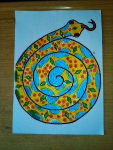 preschool snake crafty