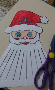 santa claus christmas crafty for kids