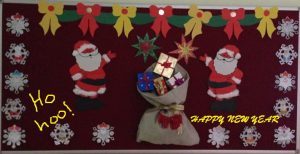 santa claus christmas preschool bulletin board ideas