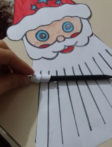 santa claus preschoolers craft idea to make