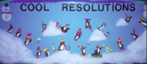 winter cool penquin bulletin board ideas for kids