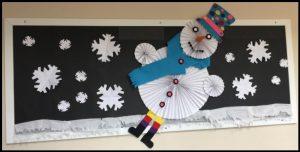 winter easy bulletin board ideas for preschool