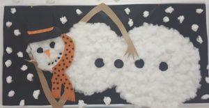 snowman preschool bulletin board ideas