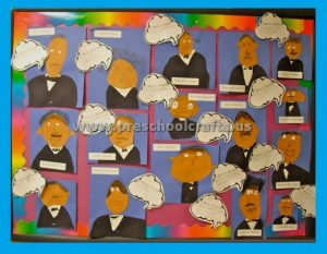 In Celebration fo Dr. Martin Luther King Day Bulletin Board Ideas